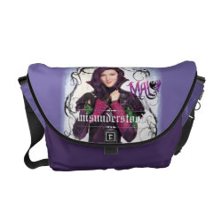 Rickshaw Medium Zero Messenger Bag with Descendants Mal: Misunderstood design
