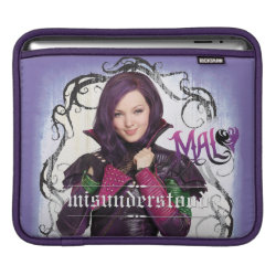 iPad Sleeve with Descendants Mal: Misunderstood design