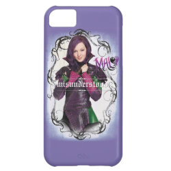 Case-Mate Barely There iPhone 5C Case with Descendants Mal: Misunderstood design