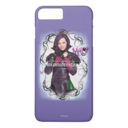 Case-Mate Tough iPhone 7 Plus Case with Descendants Mal: Misunderstood design
