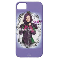 Case-Mate Vibe iPhone 5 Case with Descendants Mal: Misunderstood design