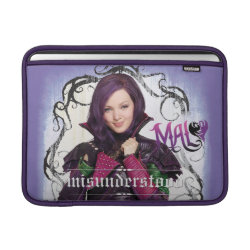 Macbook Air Sleeve with Descendants Mal: Misunderstood design