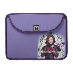 Macbook Pro 13' Flap Sleeve with Descendants Mal: Misunderstood design