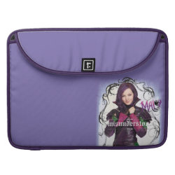 Macbook Pro 15' Flap Sleeve with Descendants Mal: Misunderstood design