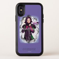 OtterBox Apple iPhone X Symmetry Case with Descendants Mal: Misunderstood design
