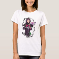 Women's Basic T-Shirt with Descendants Mal: Misunderstood design