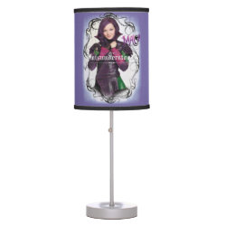 Table Lamp with Descendants Mal: Misunderstood design
