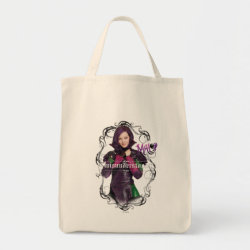 Grocery Tote with Descendants Mal: Misunderstood design