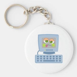 Mal PC Llavero Redondo Tipo Pin