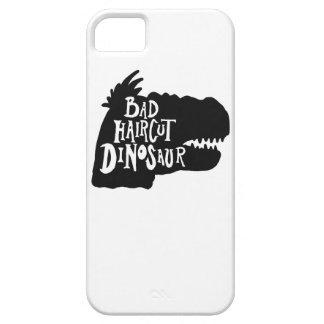 Mala caja del teléfono del dinosaurio del corte de funda para iPhone SE/5/5s