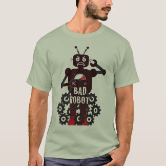 Mala camisa del robot