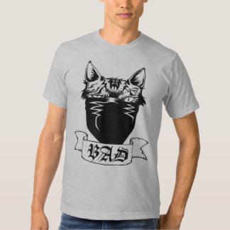 MALA camiseta del gato Poleras