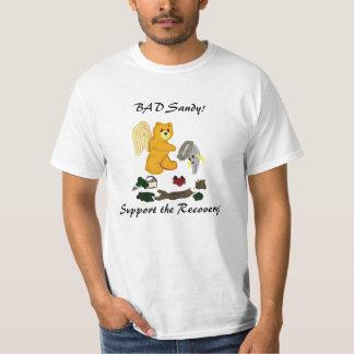 MALA camiseta del oso del ángel de Sandy Remeras