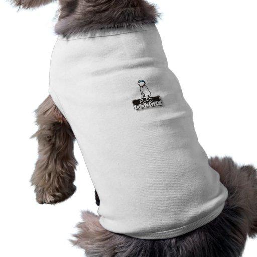 Mala camiseta del perro del logotipo 2 del perrito ropa macota
