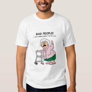 ¡Mala gente! Poleras