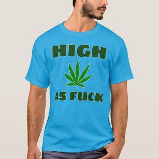 Mala hierba alta como camiseta de los hombres de