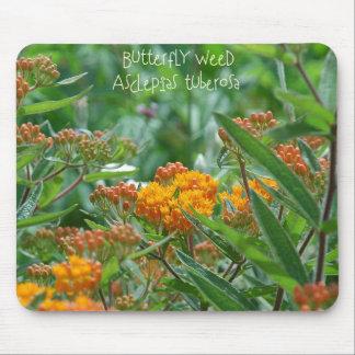 Mala hierba de mariposa alfombrilla de ratones