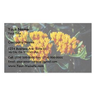 Mala hierba de mariposa tarjetas de visita