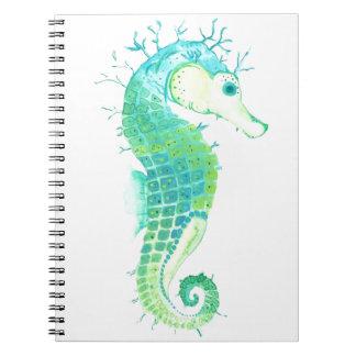 Mala hierba del mar libreta espiral