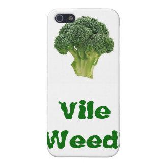¡Mala hierba vil! iPhone 5 Fundas