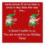 Mala invitación del fiesta del duendecillo del