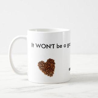 mala mañana tazas de café