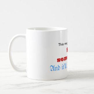 Mala mañana taza de café