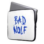 Mala manga del ordenador portátil del lobo mangas computadora