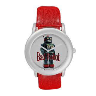 Mala moda del robot reloj