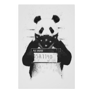 Mala panda póster