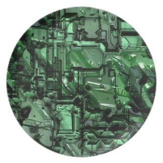 Mala placa del robot 2 plato