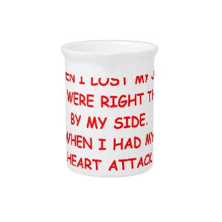 mala suerte jarras de beber