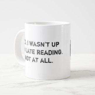 Mala taza de café de la extra grande del círculo taza grande
