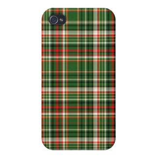 Mala tela escocesa iPhone 4 coberturas