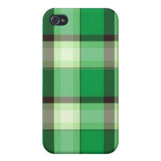 Mala tela escocesa Iphone 4 iPhone 4 Fundas