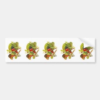 Malabar Trogon Bumper Sticker