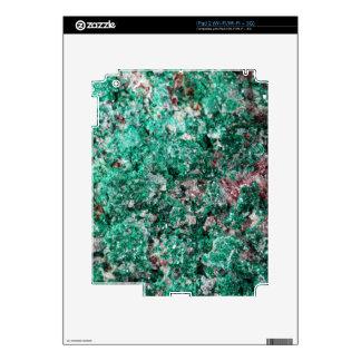 Malachite and copper skin for the iPad 2