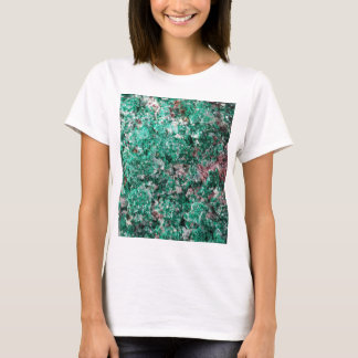 Malachite and copper T-Shirt