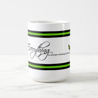 Malachite Butterfly - Everything is always working Coffee Mug