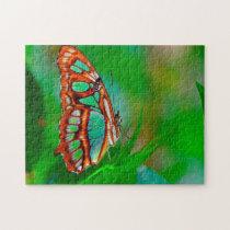 Malachite Butterfly. Jigsaw Puzzle