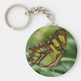 Malachite Butterfly Keychain