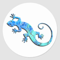 Malachite Gecko Stickers
