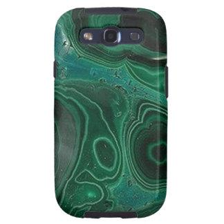Malachite Geode Galaxy S3 Case