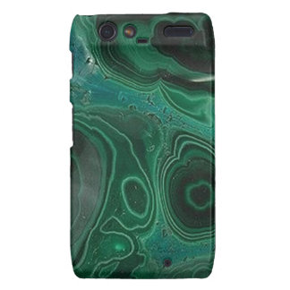Malachite Geode Motorola Droid RAZR Cover