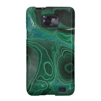 Malachite Geode Galaxy SII Cover
