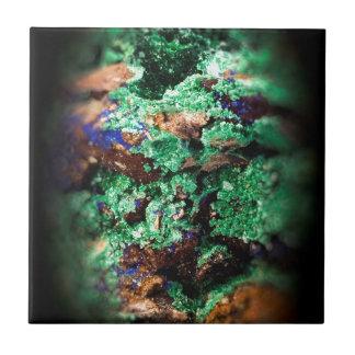 Malachite Lapis Azurite Gems Gemology Rock Ceramic Tile
