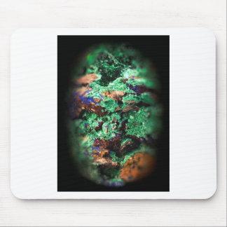 Malachite Lapis Azurite Gems Gemology Rock Mouse Pad