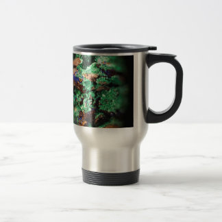 Malachite Lapis Azurite Gems Gemology Rock Travel Mug