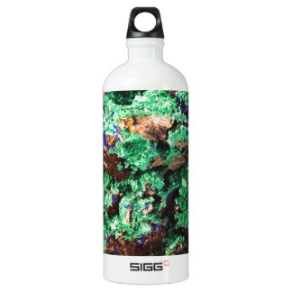 Malachite Lapis Azurite Gems Gemology Rock Water Bottle