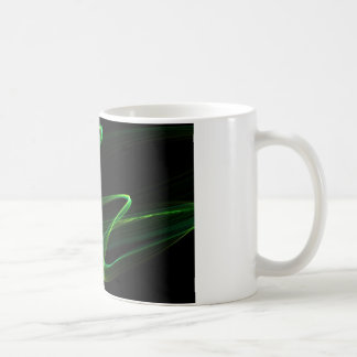 Malachite look abstract graphic coffee mug